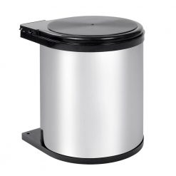 Pull Out Stainless Steel Bin