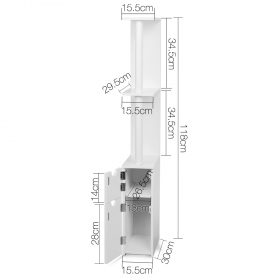 Freestanding Bathroom Storage Cabinet