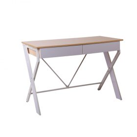 Metal study Desk with Drawer