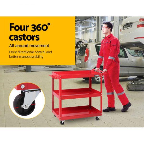 Red Tool Cart