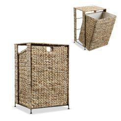 Hyacinth Laundry Basket