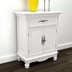 2 Door Cabinet - White