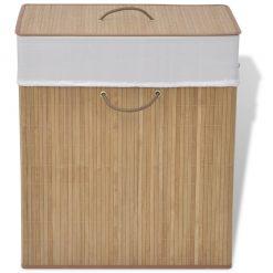 Rectangular Laundry Bin - Natural
