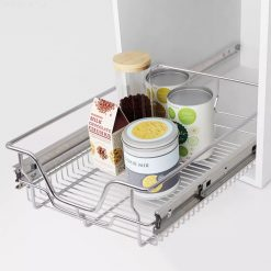 Pull-Out Wire Basket Drawers - 400 mm