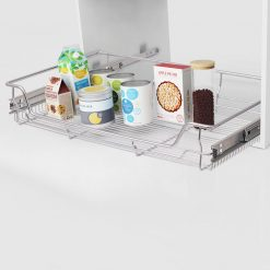 Pull-Out Wire Basket Drawers - 800mm
