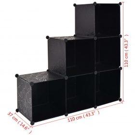 6 Compartment Storage Cube