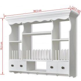 Kitchen Wall Cabinet - White