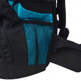 Extra Large Hiking Backpack - Black and Blue