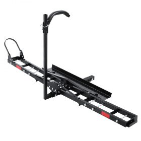 """Motorcycle Carrier Rack - 2"""" Hitch Mount"""