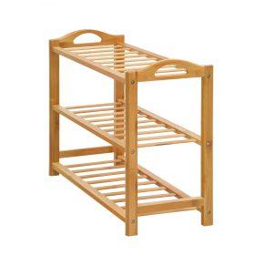 3 Tier Bamboo Shoe Rack