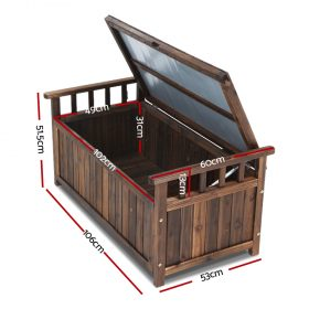 Outdoor Storage Box & Bench - Charcoal