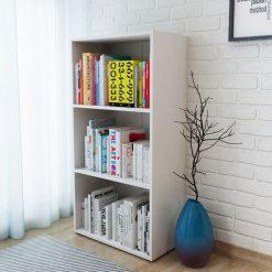 Bookshelf Chipboard - White