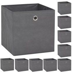 Storage Boxes - Non-woven Fabric Grey
