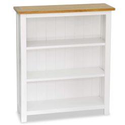 3-Tier Bookcase - Solid Oak