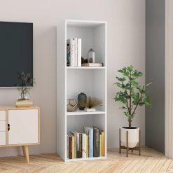 114cm Book Cabinet - White