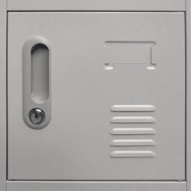 18 Compartment Metal Locker Cabinet