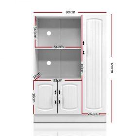 Buffet Sideboard Cabinet - White