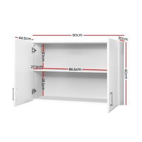 Wall Cabinet - White